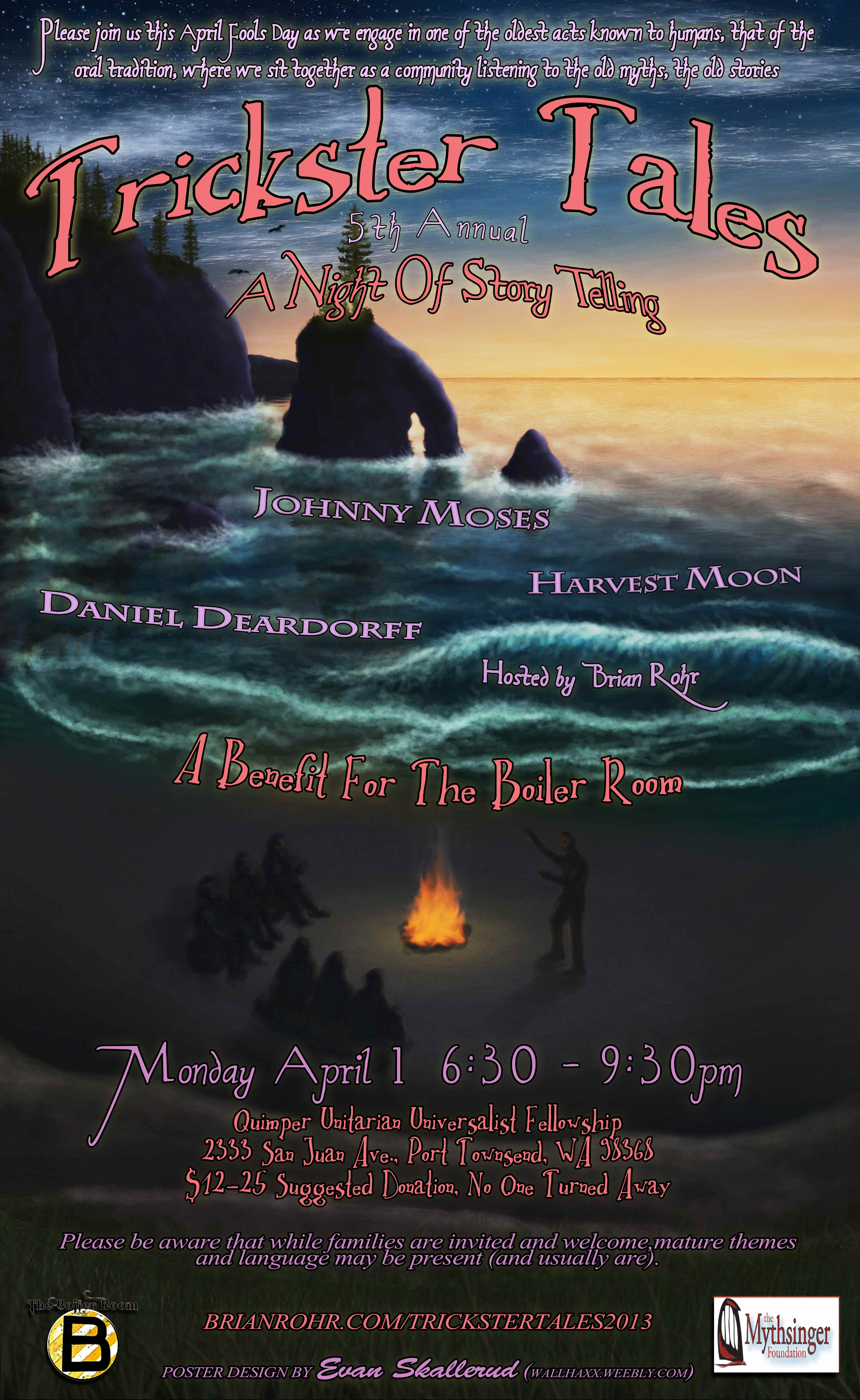 Trickster Tales Posters | Brian Rohr | Storyteller